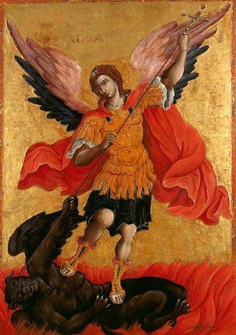 Theodoros Poulakis L'Arcangelo Michele