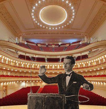 Léon Theremin e il suo strumento