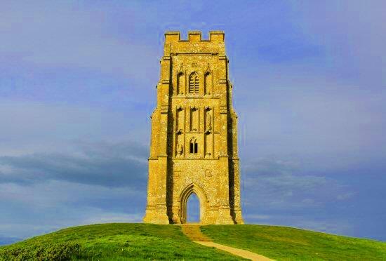 Torre della chiesa di San Michele a Glastonbury