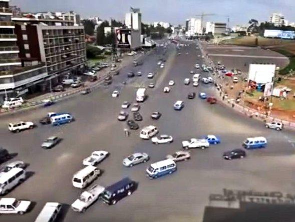 Traffico ad Adis Abeba