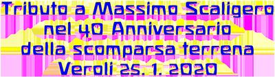 Tributo a Massimo Scaligero