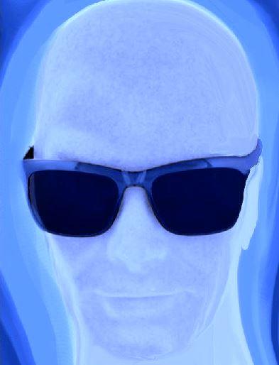 Uomo nel blu