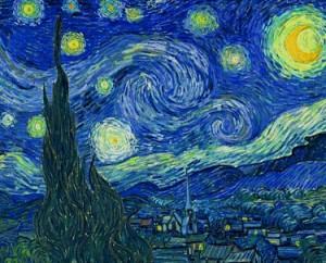 Van Gogh «Notte stellata» – giugno 1889