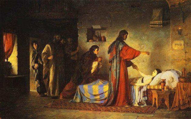 Vasily Polenov Resurrezione della figlia di Giairo