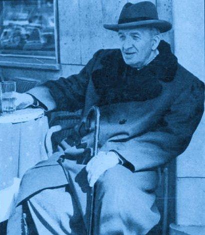 Il poeta Vincenzo Cardarelli
