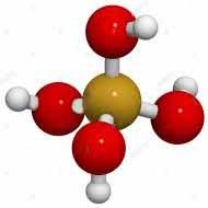 Acido silicico molecola