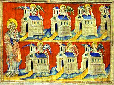 Le lettere alle sette chiese dell'Apocalisse