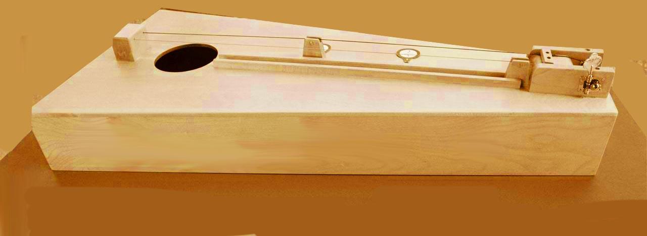 Monocordo, o chitarrina pitagorica